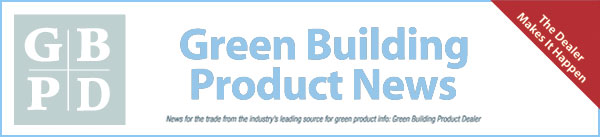 Green Building Product News