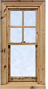 Reclaimed Wood Windows