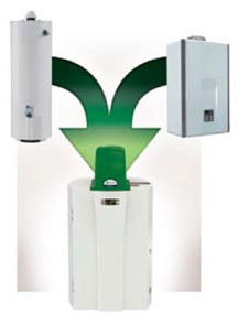 Hybrid Water Heating